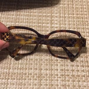 "Coach ""Emma"" sunglasses with prescription frames"